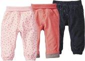 Dívčí kojenecké manžestrové kalhoty Lupilu