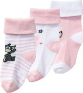 Dívčí kojenecké ponožky