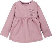 Dívčí kojenecké tričko s dlouhým rukávem Pure Collection Lupilu