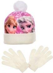Dívčí set čepice a rukavice