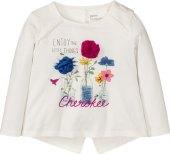 Dívčí tričko s dlouhým rukávem Lupilu by Cherokee