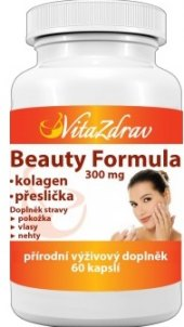 Doplněk straby Beauty formula VitaZdrav