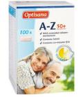 Doplněk stravy A-Z 50+ Optisana