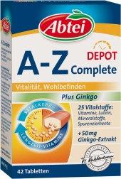 Doplněk stravy A - Z Multivitamin komplex Abtei