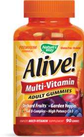 Doplněk stravy Alive Gummies Nature's Way