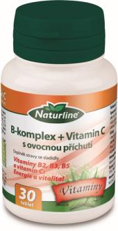 Doplněk stravy B-komplex + vit. C Naturline
