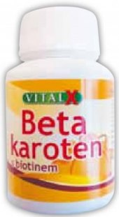 Doplněk stravy Beta-karoten Vitalx