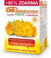 Doplněk stravy Betakaroten Forte s měsíčkem GS