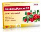 Doplněk stravy Brusinky&Manosa Akut Dr. Max