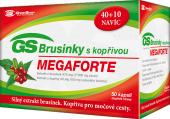 Doplněk stravy brusinky s kopřivou Megaforte GS