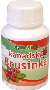 Doplněk stravy brusinky s kopřivou VitaX