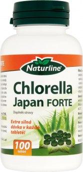 Doplněk stravy Chlorella Japan Forte Naturline