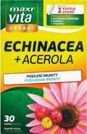 Doplněk stravy Echinacea + acerola MaxiVita