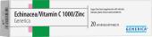 Doplněk stravy Echinacea Vitamín 1000 Zinc Generica