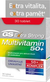 Doplněk stravy Extra Strong Multivitamin 50+ GS