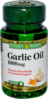Doplněk stravy Garlic Oil Nature's Bounty