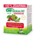Doplněk stravy Ginkgo 60 Premium GS