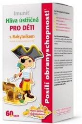 Doplněk stravy Hlíva ústřičná pro děti s rakytníkem Imunit