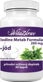Doplněk stravy Iodine Metab Formula VitaZdrav