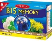 Doplněk stravy kapsle B15 Memory Terezia Company