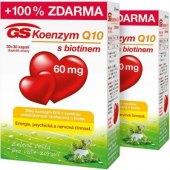 Doplněk stravy Koenzym Q10 60 mg GS