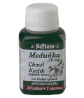 Doplněk stravy Meduňka, chmel, kozlík Medpharma