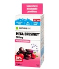 Doplněk stravy Mega brusinky Akut NatureVia Swiss