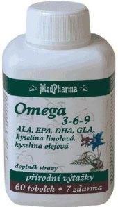 Doplněk stravy Omega 3-6-9 MedPharma