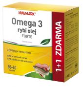 Doplněk stravy Omega 3 rybí olej Forte Walmark