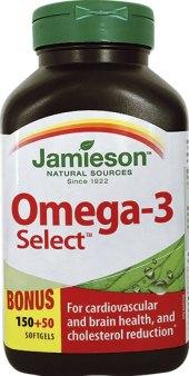 Doplněk stravy Omega-3 Select Jamieson