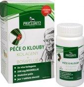 Doplněk stravy péče o klouby Kolageny + Boswellie Priessnitz