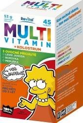 Doplněk stravy pro děti Multiviramin + kolostrum Revital