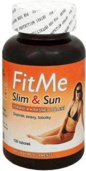 Doplněk stravy pro lepší opálení FitMe