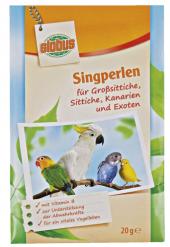 Doplněk stravy pro papoušky perličky podporující zpěv Globus