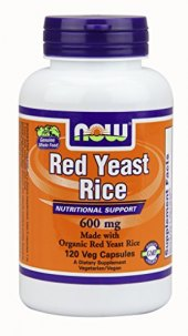 Doplněk stravy Red Yeast Rice Now Foods