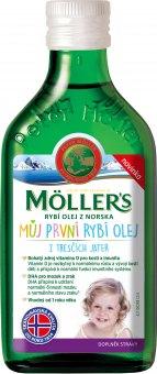 Doplněk stravy rybí olej dětský Omega 3 Möller's