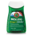 Doplněk stravy rybí olej Omega 3 Double Möller's