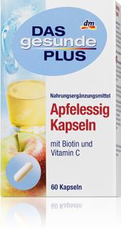 Doplněk stravy s jablečným octem Das gesunde Plus