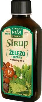 Doplněk stravy Sirup Herbal MaxiVita