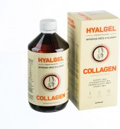 Doplněk stravy sirup pro výživu kloubů Hyalgel Collagen