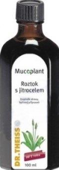 Doplněk stravy roztok proti kašli s jitrocelem Mucoplant Dr. Theiss