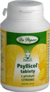 Doplněk stravy tablety Psyllicol Dr. Popov