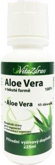 Doplněk stravy tekuté Aloe Vera VitaZdrav