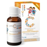 Doplněk stravy tekutý Junior Vitamín C Lipo-C-Askor
