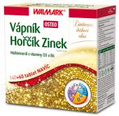 Doplněk stravy Vápník hořčík zinek Osteo Walmark