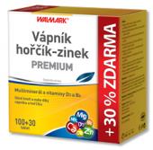 Doplněk stravy Vápník-hořčík-zinek Premium Walmark