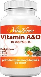 Doplněk stravy Vitamín A & D VitaZdrav