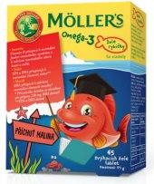 Doplněk stravy želé dětské Omega 3 Möller's