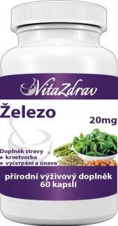 Doplněk stravy Železo VitaZdrav