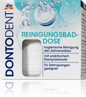 Dóza na čištění zubních protéz Dontodent